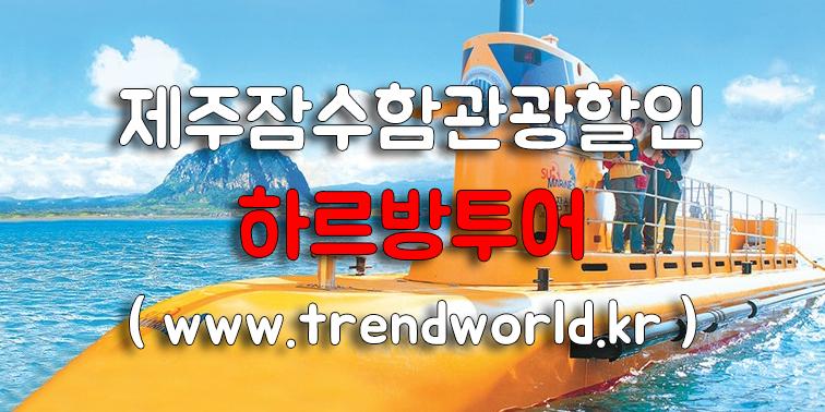제주 잠수함 관광할인 『제주하르방투어』